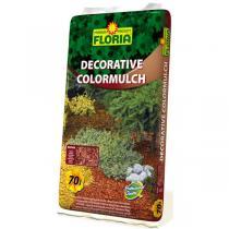 Agro Kůra FLORIA decor. ColorMulch hnědá, 70 l