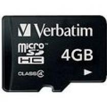 Verbatim Micro SDHC 4GB Class 4