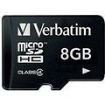 Verbatim Micro SDHC 8GB Class 4