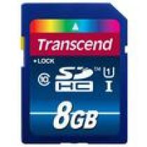 Transcend SDHC 8GB class 10 UHS-I 300X