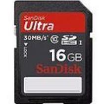 SanDisk SDHC Ultra 16GB Class 10