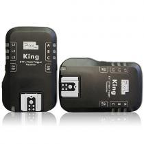 Pixel King i-TTL Nikon set odpalovač/přijímač