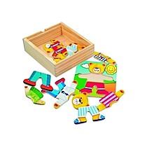 Puzzle šatní skříň Medvídek