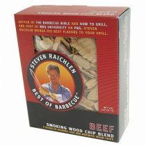 Steven Raichlen Směs dřevěných lupínků k uzení hovězí