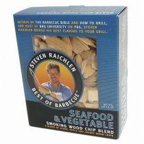 Steven Raichlen Směs dřevěných lupínků k uzení zelenina a mořské plody