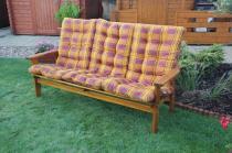 Zahradní nábytek Liška Čalounění na zahradní dřevěnou lavici SEVILA