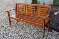 Liška LONUS lavice pro 3 osoby