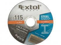 EXTOL CRAFT 125x1,0x22,2mm Kotouč řezný na kov