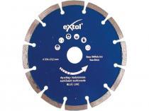 EXTOL PREMIUM Kotouč diamantový řezný segmentový 125x22,2mm