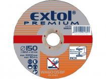EXTOL PREMIUM 125x1,0x22,2mm Kotouč řezný na ocel/nerez