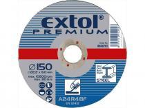 EXTOL PREMIUM 125x6,0x22,2mm Kotouč brusný na ocel