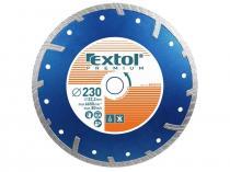 EXTOL PREMIUM Kotouč diamantový řezný turbo 125x22,2mm