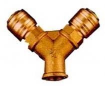 EINHELL R 3/8, vnitřní závit Rozdělovač tlakového vzduchu se 2 rychlospojkami,