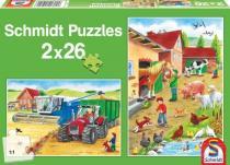 SCHMIDT Na selském dvoře Puzzle
