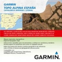 Garmin Katalánsko TOPO Alpina Espana, Catalunya Interior I Litoral