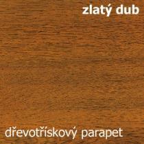 Vnitřní parapet - zlatý dub