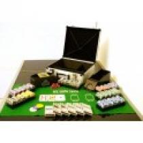 OEM Poker set 600 ks žetonů OCEAN s příslušenstvím