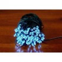 Zahradní solární řetěz - 50x LED dioda studená bílá