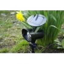Zahradní LED Solární reflektor se 3 LED diodami