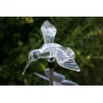Solární zahradní LED světlo kolibřík