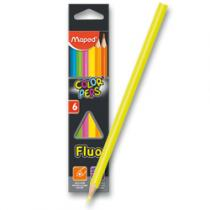 Maped Color´Peps Fluo - 6 barev
