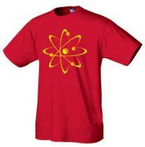Geek tričko Atom