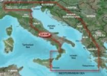 Garmin Bluechart G2 Vision VEU014R - Italy, Adriatic Sea, území velikosti Regular