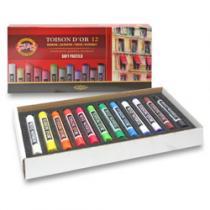 Koh-i-noor Křídy prašné TOISON D´OR 8512 - 12 barev