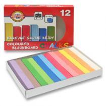 Koh-i-noor Křídy školní - 12 barev