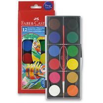 Faber-Castell Vodové barvy - 12 barev, 30 mm