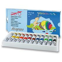 Aero Temperové barvy - 12 barev