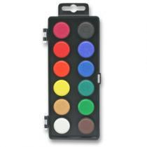 Koh-i-noor Vodové barvy - 12 barev, 30 mm
