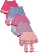 YO COMPANY Punčocháčky bavlněné se sukničkou - balení 5 ks