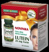 Nature's Bounty Lutein 20 mg Forte (60 tobolek)