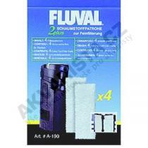 Fluval Náplň vata pro vnitřní filtry Fluval 2 Plus