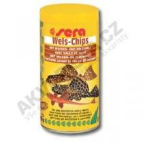 Sera Wels (Catfish) Chips 250ml
