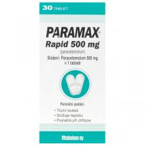 Paramax Rapid 500mg (30 tablet)