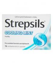 Strepsils Cooling Mint (16 pastilek)
