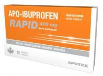 Apo-Ibuprofen Rapid 400mg (10 tobolek)