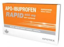 Apo-Ibuprofen Rapid 400mg (20 tobolek)