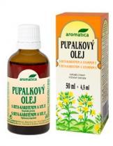 Aromatica Pupalkový olej s beta-karotenem a vitamínem E (50 ml)