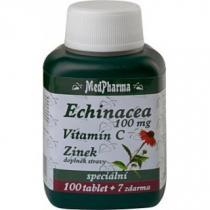 MedPharma Echinacea 100mg + vitamin C + zinek (67 tablet)