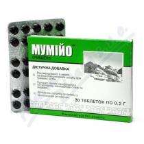 Mumio čisté (30 tablet) á (2g)