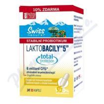 Swiss Laktobacily 5 (33 kapslí)