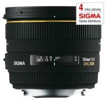 Sigma 50mm f/1.4 EX DG HSM Nikon