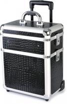 Hairway Kadeřnický kufr na kolečkách 3-dílný, 28588