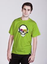 Teenstyle Music Skull tričko