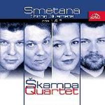 Bedřich Smetana Smyčcové kvartety č. 1, 2