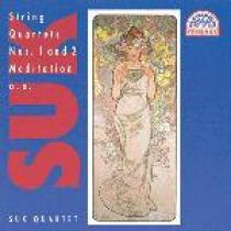 Josef Suk Smyčcové kvartety op. 11 a 31, ...