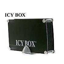 "ICY BOX IB-318StUS2-B externí Alu USB+eSATA černý box na 3.5"" SATA HDD"